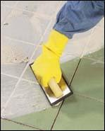 Tile setters lay it on the line for you...